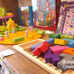 店内の玩具
