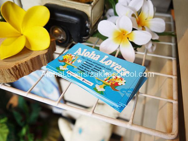 AlohaLoversのショップカード